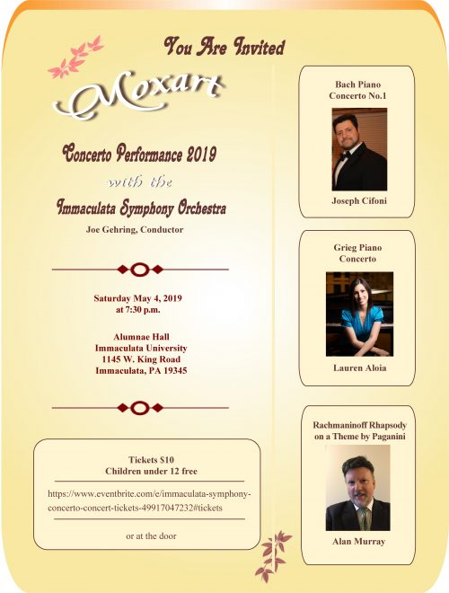 Concerto Performance May 4, 2019
